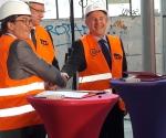 Signature convention SNCF / Ville de Nanterre